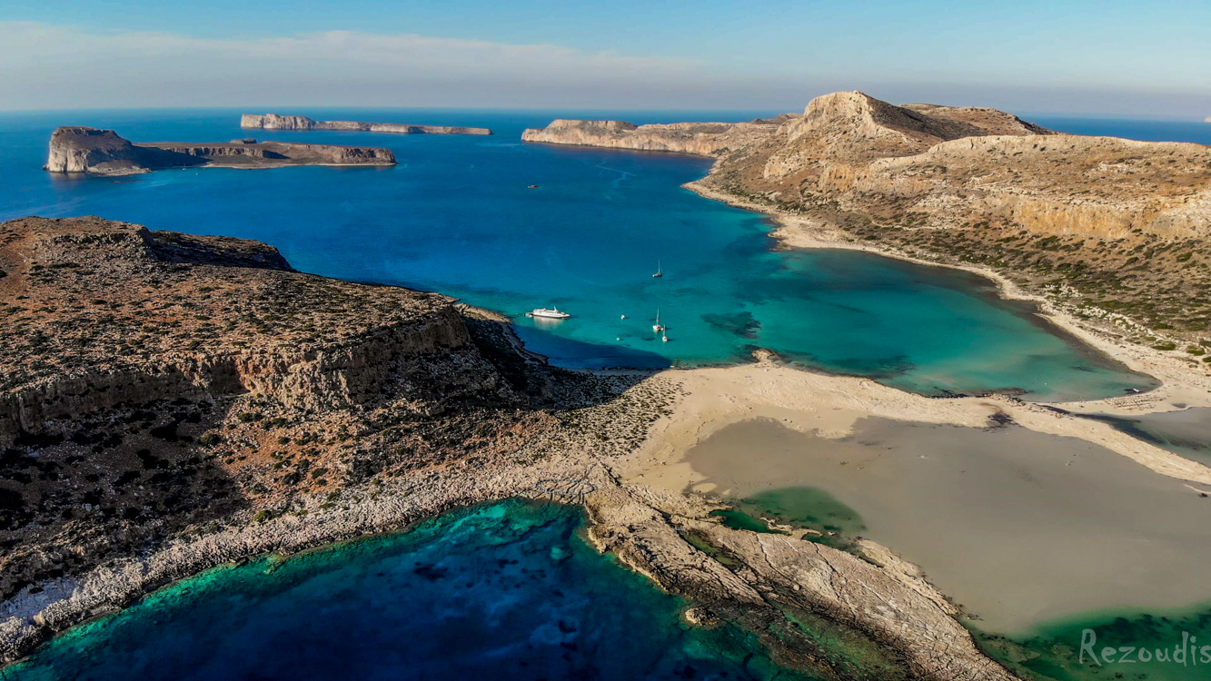 Balos Gramvoussa beach, Chania, Crete, Greece