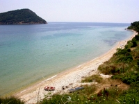 Koinyra beach, Thassos, Greece