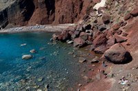Red beach, Santorini, Cyclades, Greece